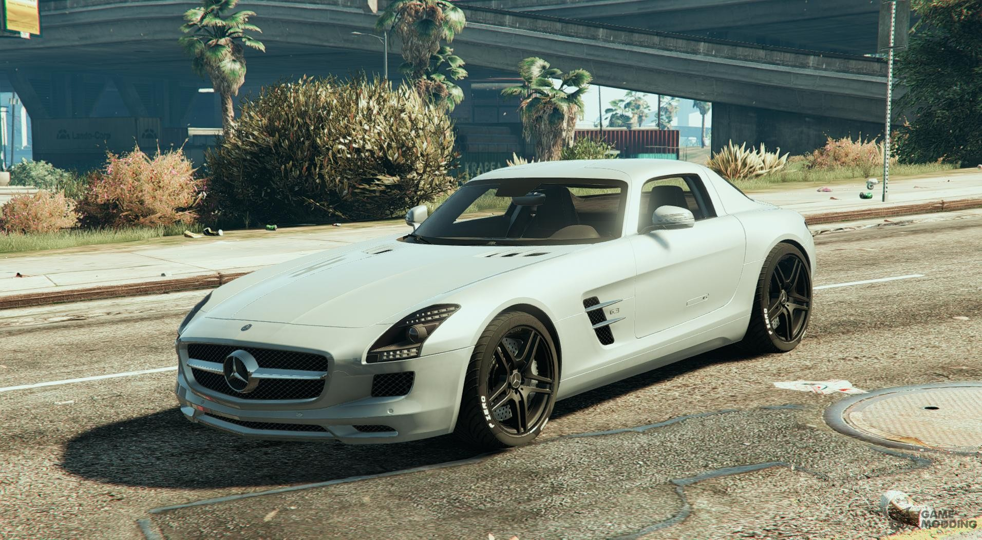 Mercedes benz sls amg coupe for gta 5 for Mercedes benz gta