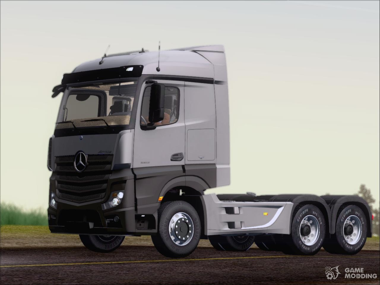 mercedes benz actros mp4 stream space black 6 x 4 v 2 0. Black Bedroom Furniture Sets. Home Design Ideas