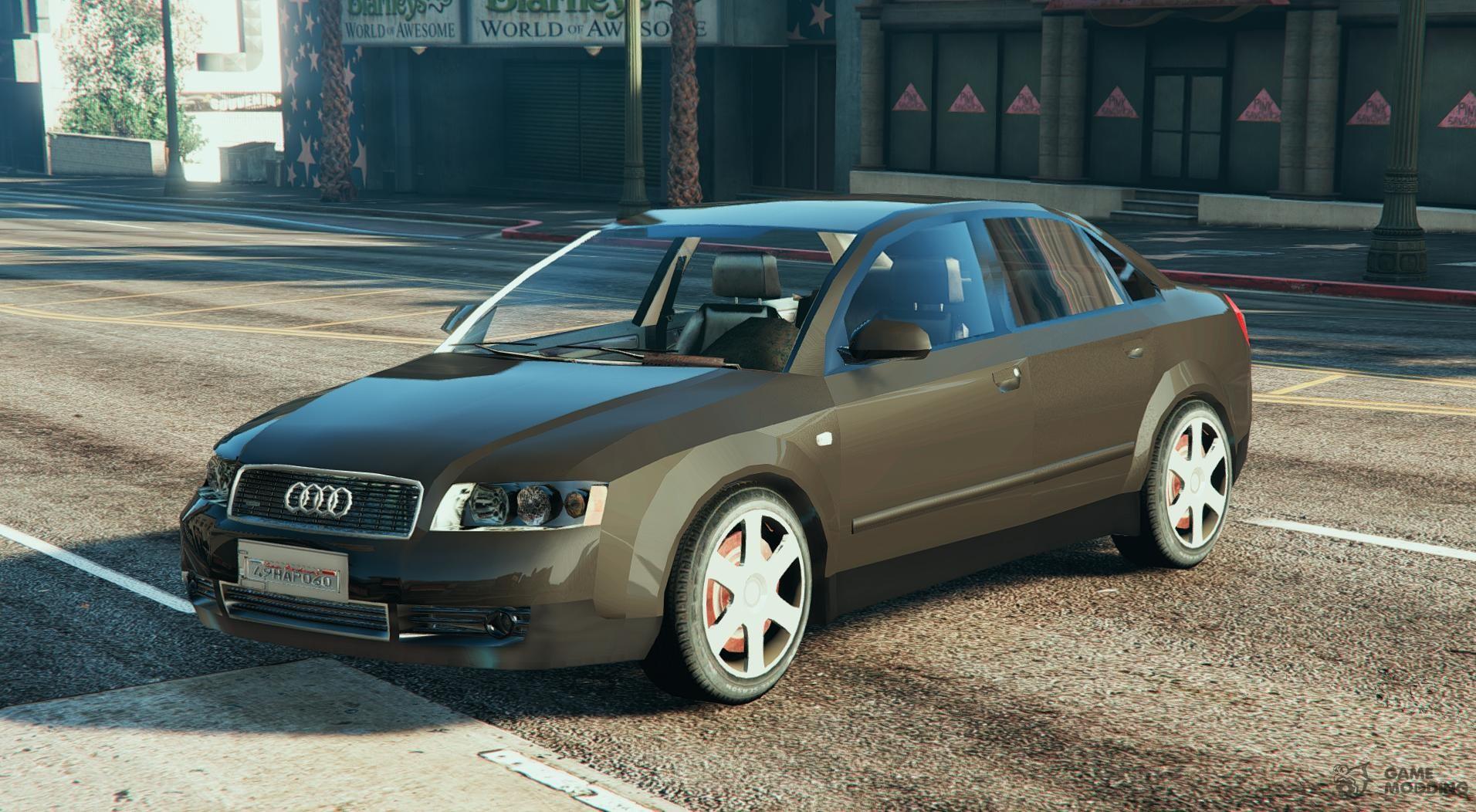A For GTA - Audi car gta 5