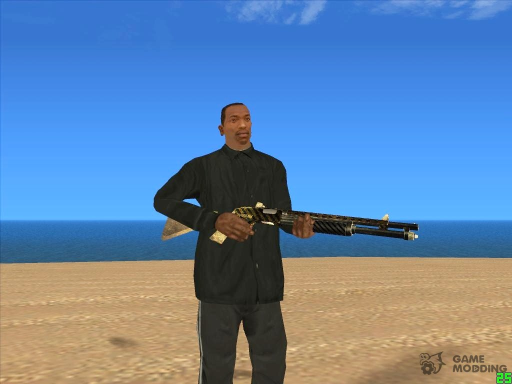 Gta sa more weapon slots