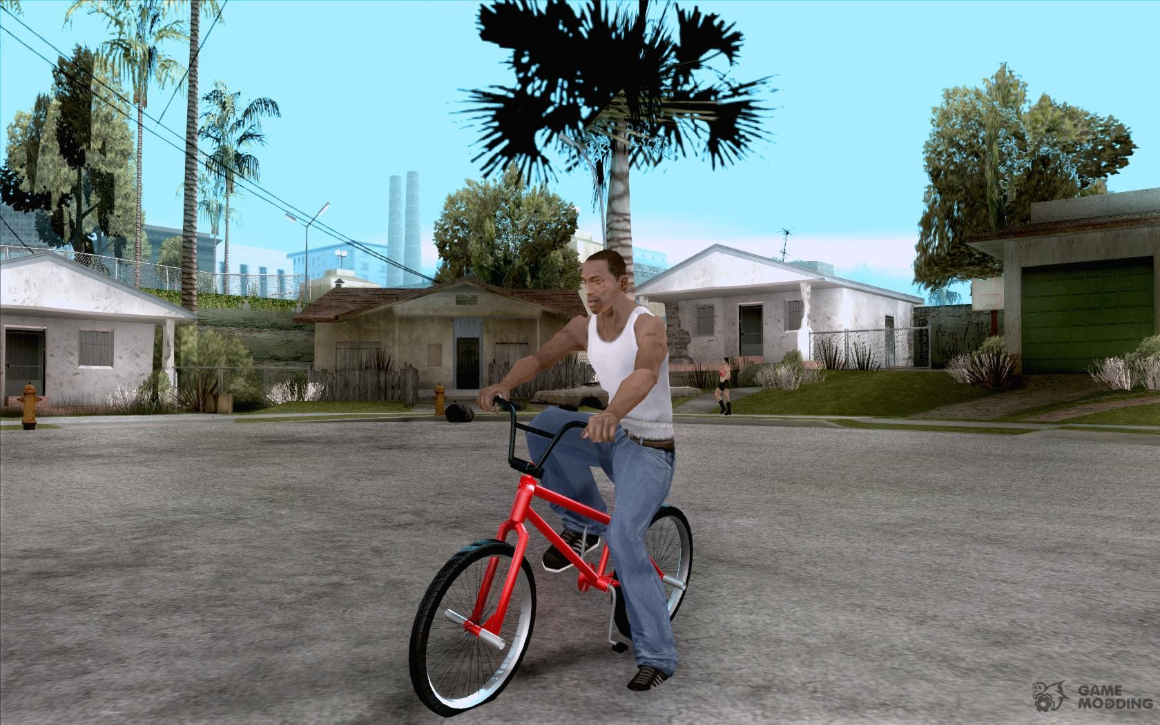 Теперь в bmx парке, ездят люди на разных велосипедах