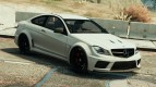 Mercedes-Benz C63 AMG Black Series v1.1