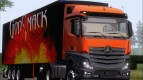 Mercedes-Benz Actros MP4 Stream Space Black 4 x 2 V 2.0