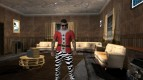 Skin GTA V Online HD in costume
