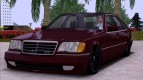 Mercedes-Benz S600 V12 W140 Full 3D