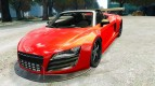 Audi R8 Spider Body Kit (NFS SHIFT 2)
