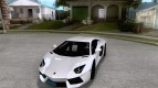 Painting works for the Lamborghini Aventador LP700-4 2011
