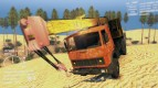 509 MAZ Truck (orange with rust)