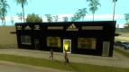 Complete replacement stores for Adidas Binco