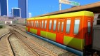 1 passenger train of the Subway Surfers
