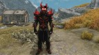 Daedric Space Armor a standalone retexture