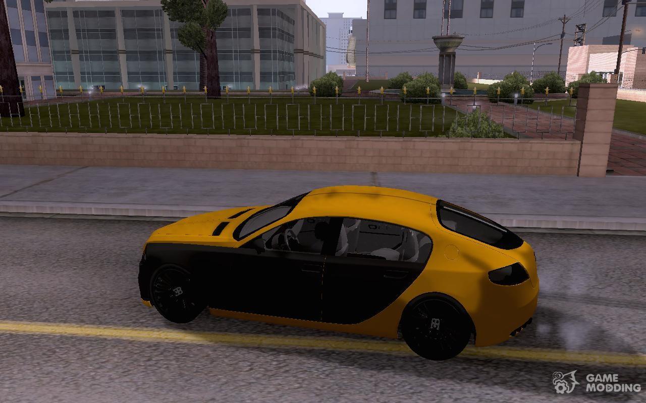 Bugatti Galibier 16c For GTA San Andreas Left View