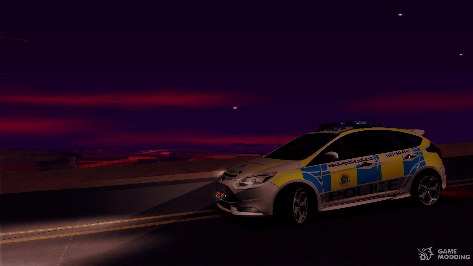 ford focus st british hampshire police  gta san andreas
