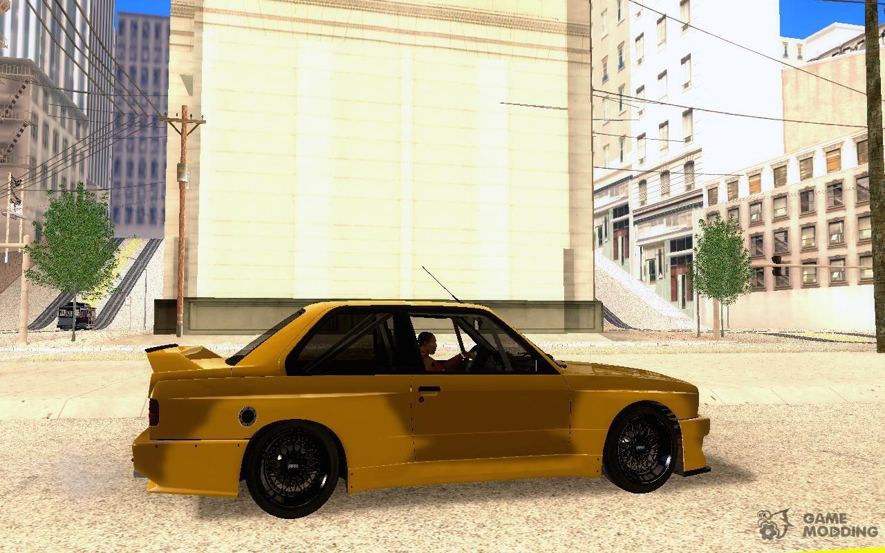 BMW M3 E30 Track Car for GTA San Andreas