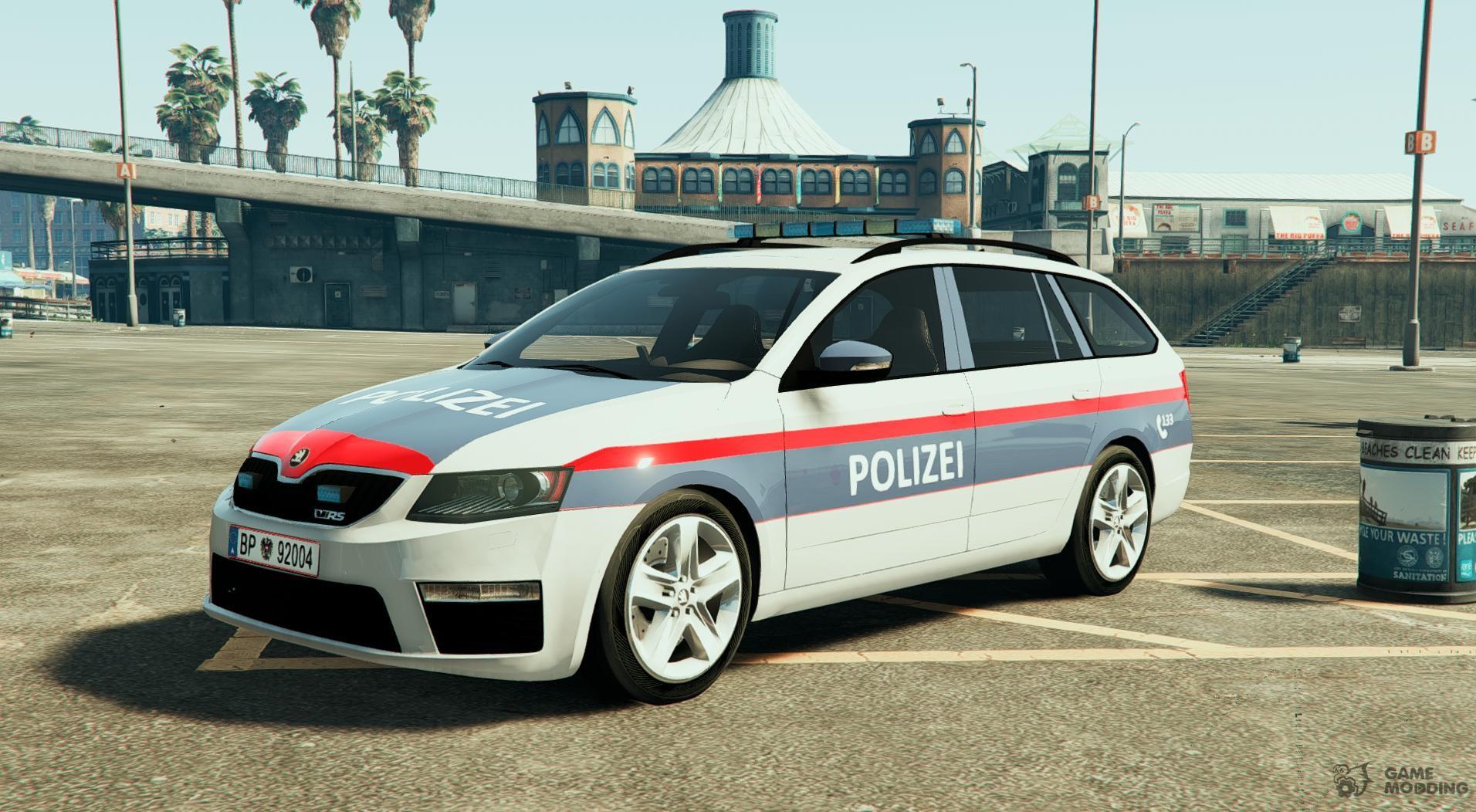 polizei Škoda 214sterreich austrian police for gta 5