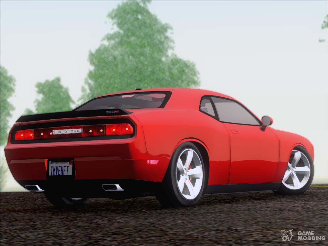 2009 dodge challenger srt8 for gta san andreas. Black Bedroom Furniture Sets. Home Design Ideas