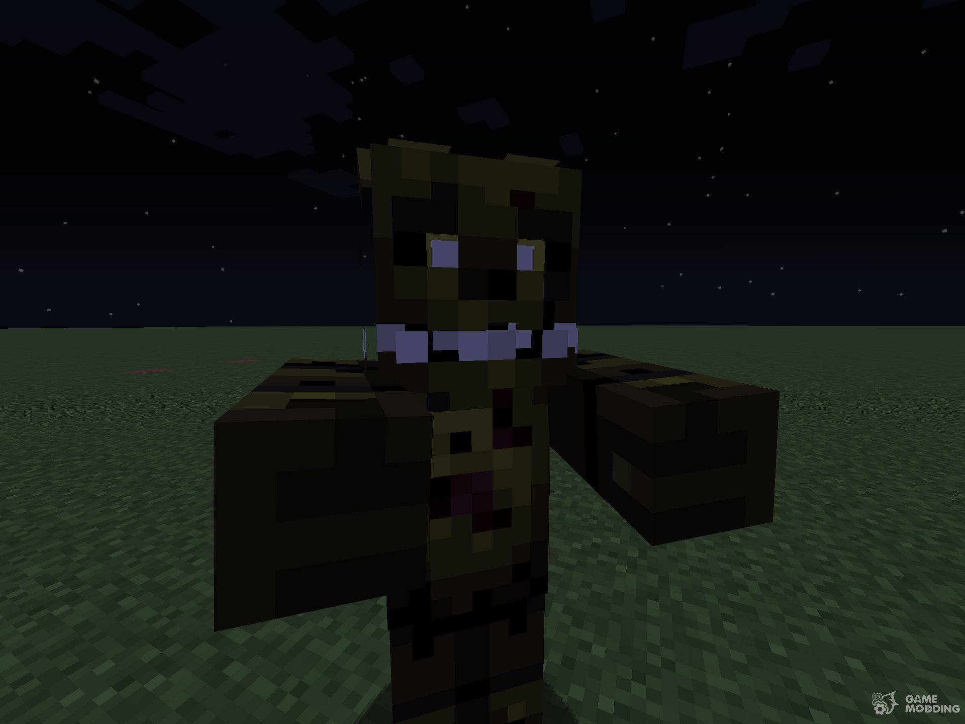 minecraft songs fnaf just gold
