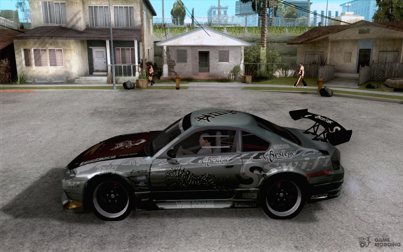 Nissan Silvia The Fast And The Furious Tokyo Drift For Gta