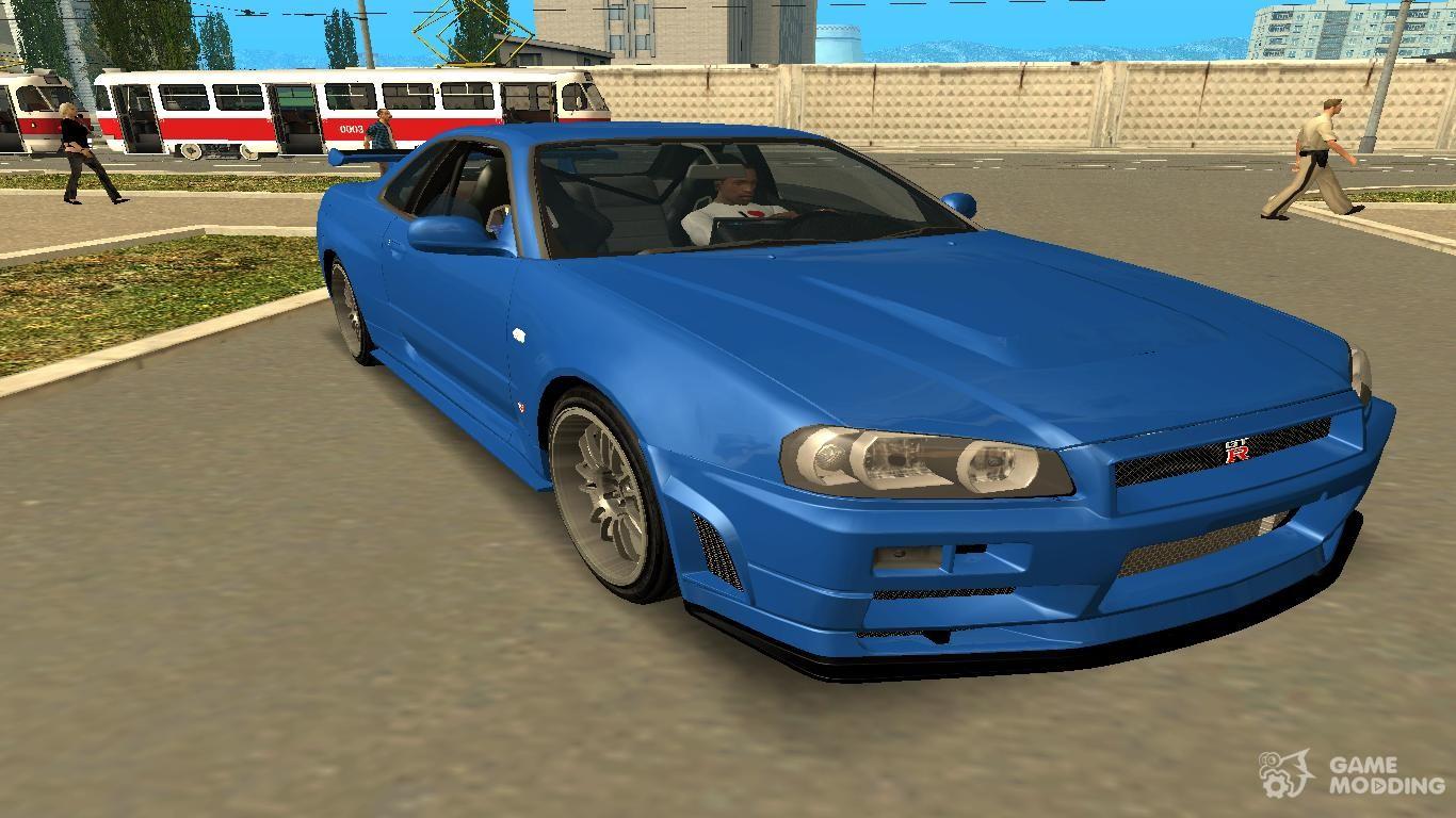 Nissan skyline gt r r34 for gta san andreas 2002 nissan skyline gt r r34 for gta san andreas vanachro Choice Image