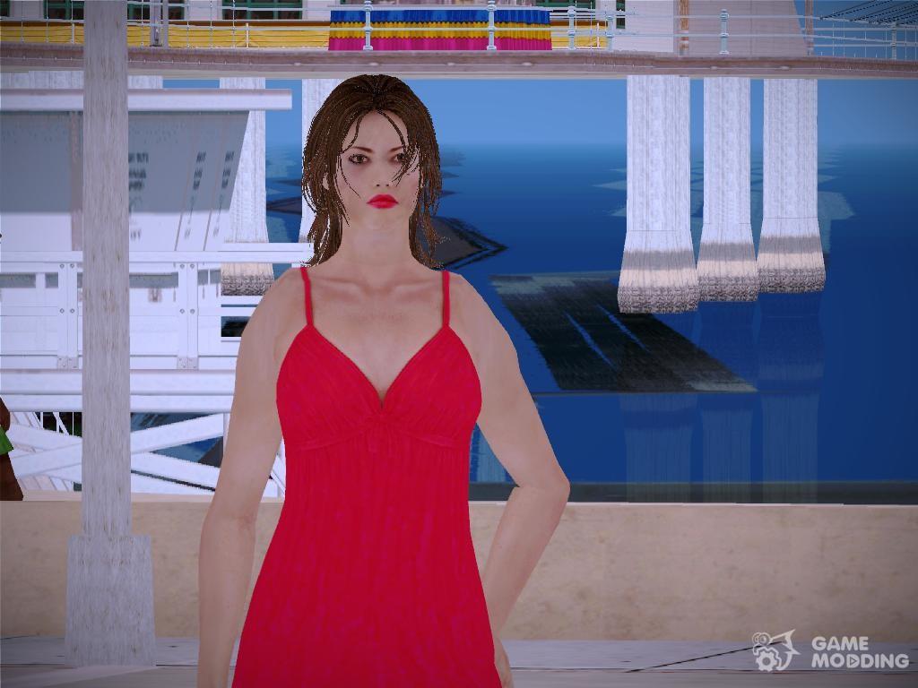 Deborah Harper Resident Evil 6 for GTA San Andreas