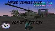 Mixed vehicle pack