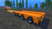 FSMT Heavy transport low loader trailer
