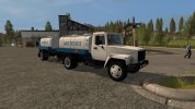 The milk truck GAZ 3309
