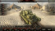 A deserted hangar World of Tanks