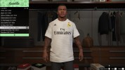 Real Madrid shirt for Franklin