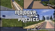 Map of the Republic of Moldova v. 0.1