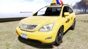 Lexus RX400 New York Taxi