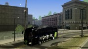 Monster Energy bus by Dominique