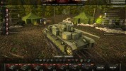 Summer hangar World of Tanks