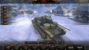 Winter maintenance hangar for World of Tanks
