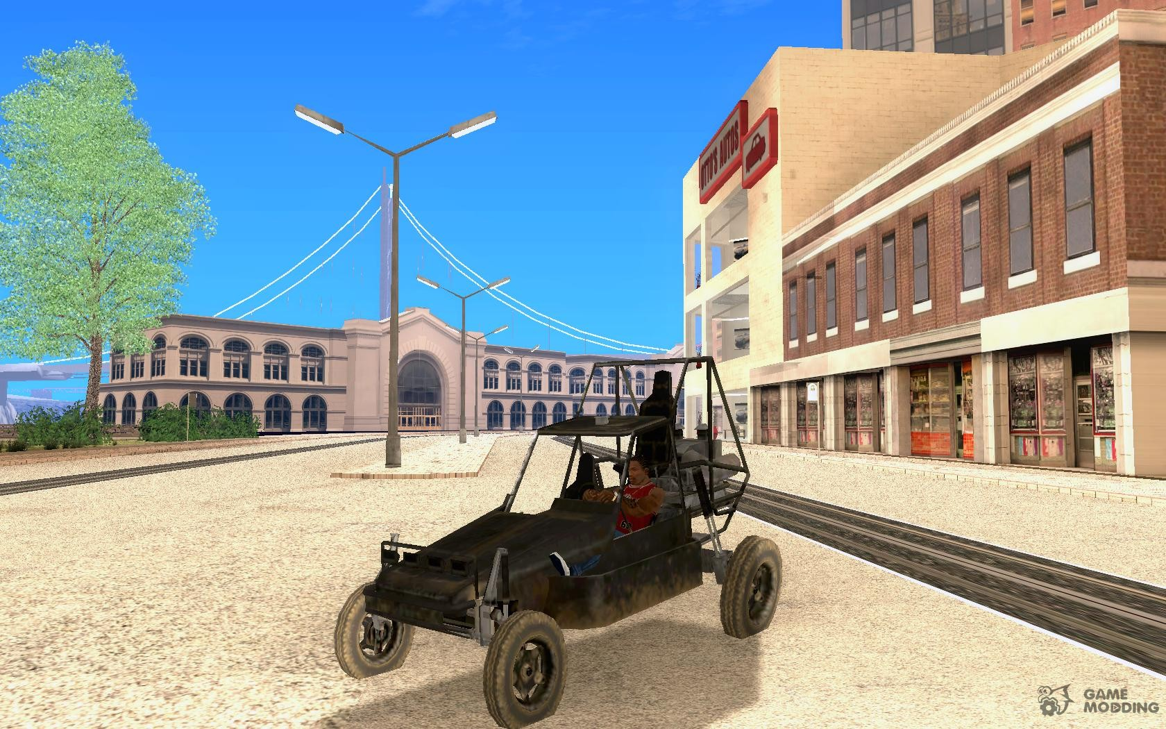 Buggy from Battlefield 2 for GTA San Andreas