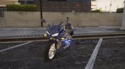 2018 Honda CBR500R Gendarmerie for GTA 5 miniature 1