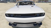2012 Dodge Challenger SRT8 392 1.0 для GTA 5 миниатюра 3
