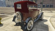 Ford T 1927 Tin Lizzie for GTA 5 miniature 8