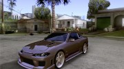 Nissan Silvia S15 JC2 Tuning for GTA San Andreas miniature 1