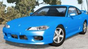 Nissan Silvia Spec-R Aero (GF-S15) 1999 for BeamNG.Drive miniature 1