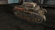 Шкурка для PzKpfw II Luchs для World Of Tanks миниатюра 5