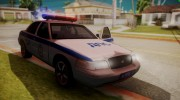Ford Crown Victoria ДПС (Final) для GTA San Andreas миниатюра 7