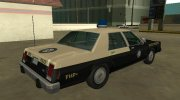 Ford LTD Crown Victoria 1987 Florida Highway Patrol for GTA San Andreas miniature 3