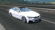 BMW M4 for Euro Truck Simulator 2 miniature 1