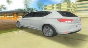 2013 Seat Leon Fr for GTA Vice City miniature 2
