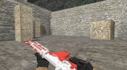 M4A4 Guntime Kinder for Counter Strike 1.6 miniature 2