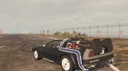 DeLorean DMC-12 for GTA 5 miniature 5
