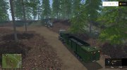 The beast heavy duty wood chippers for Farming Simulator 2015 miniature 1