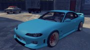 Nissan Silvia S15 v1.0 (with spoiler) for Mafia II miniature 1