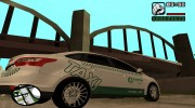 Ford Focus Такси Татарстан for GTA San Andreas miniature 4